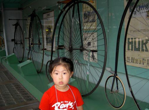 Le grand bi, l'ancêtre de la bicyclette